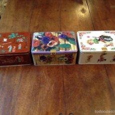 Cajas y cajitas metálicas: CAJAS COLACAO. Lote 54997665