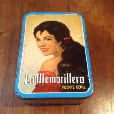 Cajas y cajitas metálicas: LA MEMBRILLERA PUENTE GENIL 64-65. Lote 55122642