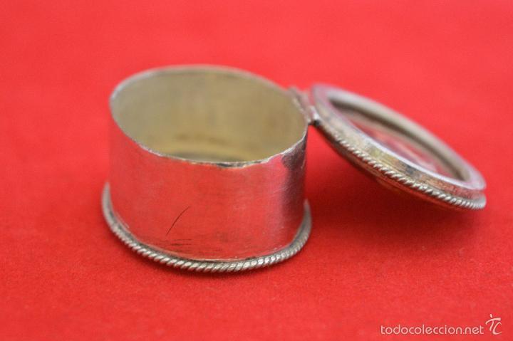 Cajas y cajitas metálicas: CAJITA METALICA EN MINIATURA TAPA EN PIEDRA IONIX - Foto 7 - 55188906