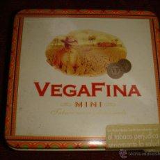 Cajas y cajitas metálicas: CAJA METÁLICA VEGAFINA. Lote 55224507