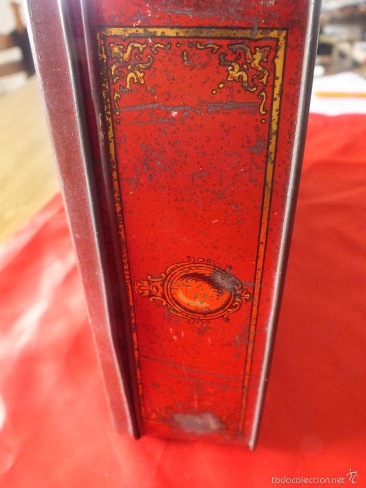 Cajas y cajitas metálicas: ANTIGUA CAJA METALICA VENECIA - Foto 3 - 55225517