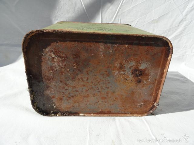 Cajas y cajitas metálicas: ANTIGUA LATA CAJA METÁLICA - VOLCK -. INSECTICIDA AGRÍCOLA. - Foto 6 - 55240556