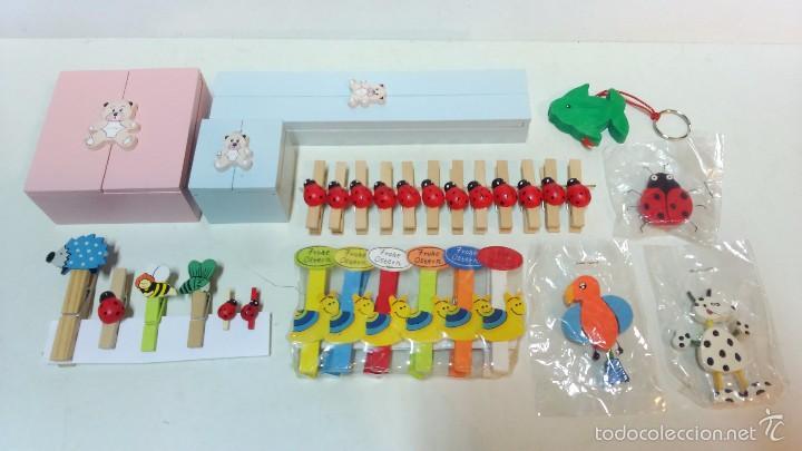 Pac infantil 3 cajas decoradas pinzas de mad comprar cajas antiguas y cajitas met licas en - Cajas infantiles decoradas ...