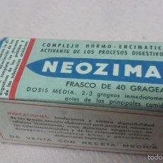 Cajas y cajitas metálicas: NEOZIMAL MEDICAMENTO ANTIGUO ACTIVANTE PROCESOS DIGESTIVOS A ESTRENAR. Lote 55808023