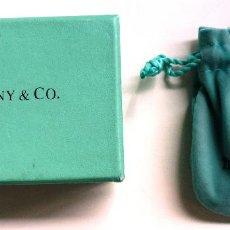 Boîtes et petites boîtes métalliques: CAJA Y SACO DE TERCIOPELO DE TYFFANY (VACÍO). Lote 55924313