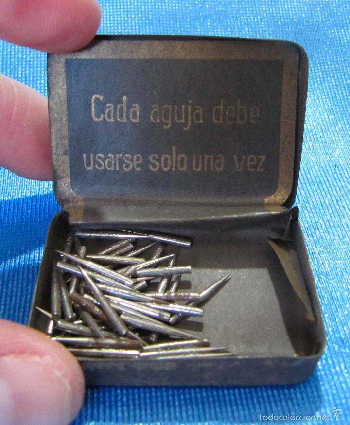 odeon needles. caja de agujas de gramófono con - Comprar Cajas ...