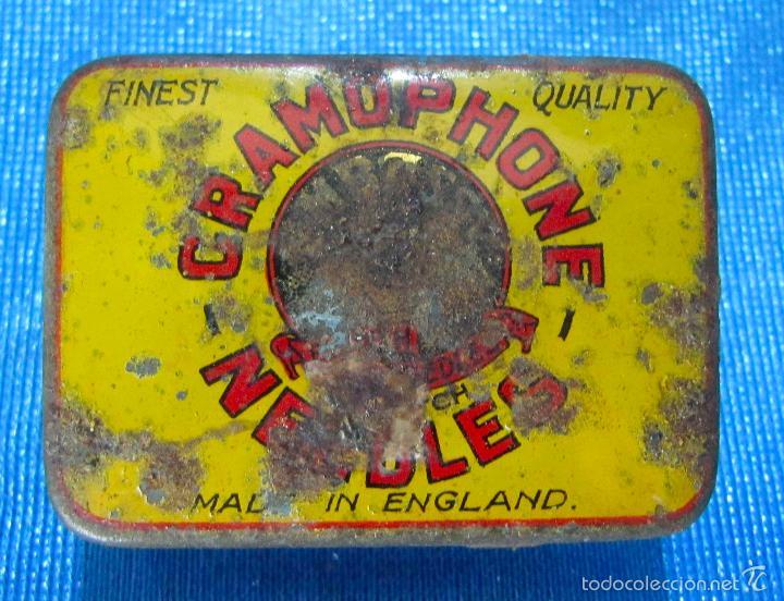 gramophon needles. caja de agujas para gramófon - Comprar Cajas ...