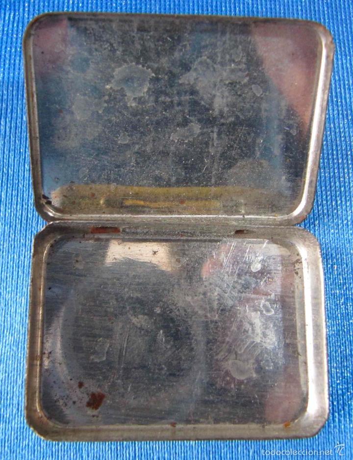 Cajas y cajitas metálicas: AGUJAS ODEON. CAJA DE AGUJAS PARA GRAMÓFONO VACÍA - Foto 2 - 56096571