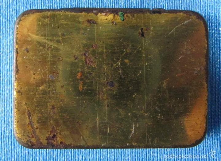 Cajas y cajitas metálicas: AGUJAS ODEON. CAJA DE AGUJAS PARA GRAMÓFONO VACÍA - Foto 3 - 56096571