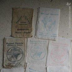 Cajas y cajitas metálicas: LOTE DE 8 SAQUITOS DE PIMENTÓN. Lote 56100302