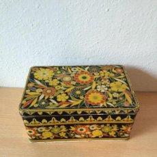 Cajas y cajitas metálicas: ANTIGUA CAJA DE LATA DE COLA CAO. Lote 56197512