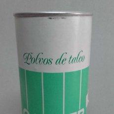 Cajas y cajitas metálicas: BOTE DE POLVOS TALCO CALBER DE 100GR CONTIENE PRODUCTO. Lote 56264037