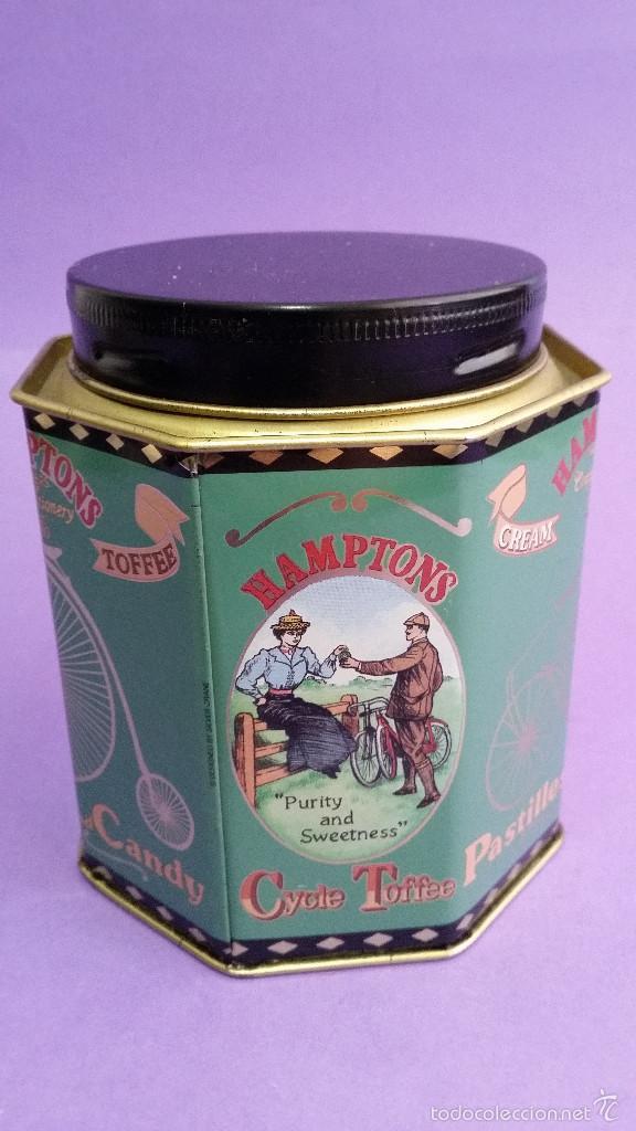 Cajas y cajitas metálicas: CAJA OCTOGONAL HAMPTONS TOFEE - Foto 2 - 56465819