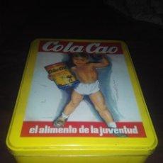 Cajas y cajitas metálicas: CAJA LATA COLACAO VINTAGE. Lote 56492984