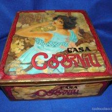 Cajas y cajitas metálicas: CAJA DE CAVA CASA CODORNIU. Lote 56700021
