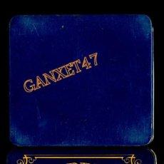 Cajas y cajitas metálicas: DUCADOS CIGARRITOS CAPA SUMATRA CAJA METALICA 8X8 CM. VACIA. Lote 56705283