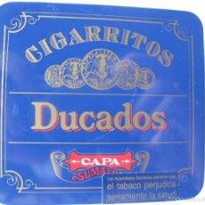Cajas y cajitas metálicas: CAJITA METÁLICA DUCADOS CAPA SUMATRA. CAJA GRANDE.. Lote 56745833