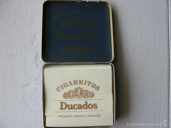 Cajas y cajitas metálicas: CAJITA METÁLICA DUCADOS CAPA SUMATRA. CAJA GRANDE. - Foto 3 - 56745833