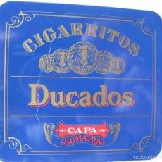 Cajas y cajitas metálicas: CAJITA METÁLICA DUCADOS CAPA SUMATRA. PEQUEÑA.. Lote 56745857