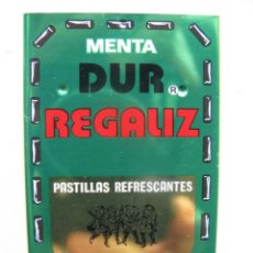 Boîtes et petites boîtes métalliques: CAJITA METÁLICA DUR REGALIZ. DIMENSIONES 7,5 X 5 X 1 CM.. Lote 56745939