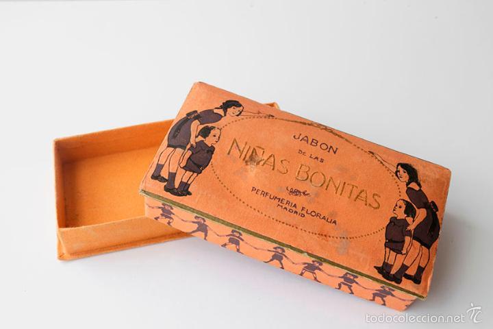 Caja de cart n jab n de las ni as bonitas perf comprar cajas antiguas y cajitas met licas en - Cajas de carton bonitas ...