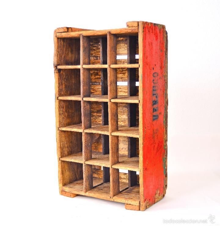 antigua caja de madera para botellas de vino frances cajas y envases cajas y