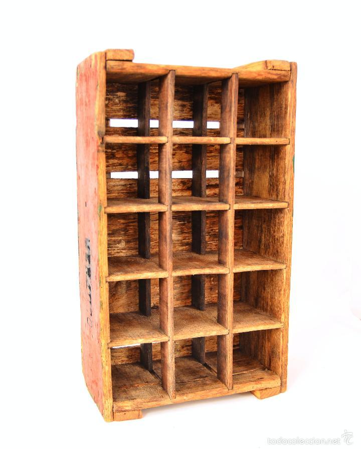 cajas y cajitas metlicas antigua caja de madera para botellas de vino frances foto