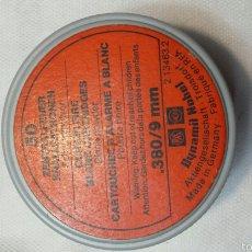 Cajas y cajitas metálicas: ANTIGUA CAJITA PARA BALAS. Lote 57096198