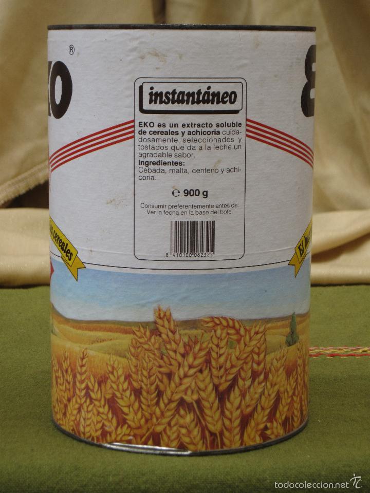 Cajas y cajitas metálicas: BOTE ANTIGUO GRANDE DE CEREALES : EKO - 900 G. - Foto 3 - 57123966