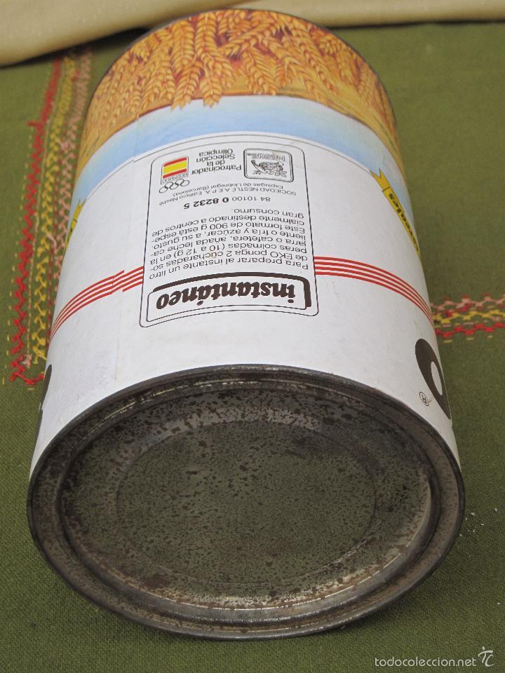 Cajas y cajitas metálicas: BOTE ANTIGUO GRANDE DE CEREALES : EKO - 900 G. - Foto 4 - 57123966