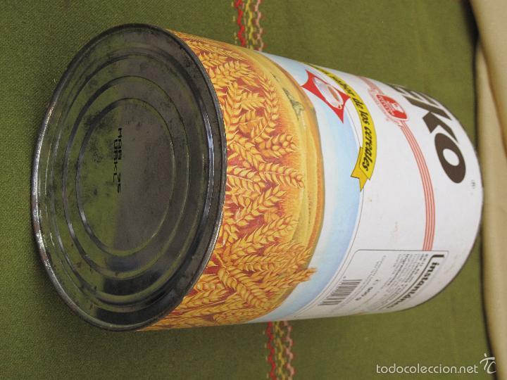 Cajas y cajitas metálicas: BOTE ANTIGUO GRANDE DE CEREALES : EKO - 900 G. - Foto 5 - 57123966