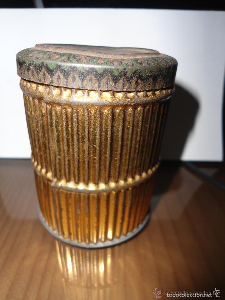 ANTIGUA CAJA HOJALATA LITOGRAFIADA (Coleccionismo - Cajas y Cajitas Metálicas)