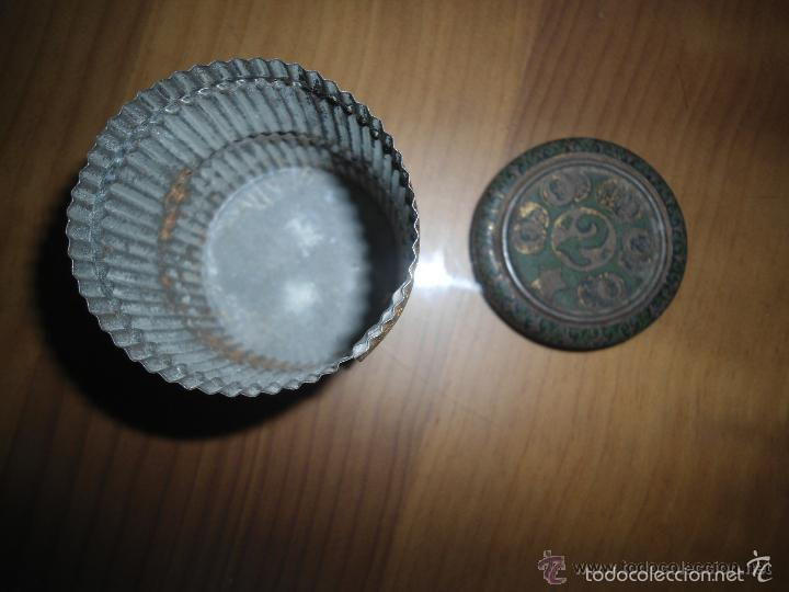Cajas y cajitas metálicas: ANTIGUA CAJA HOJALATA LITOGRAFIADA - Foto 3 - 57153704