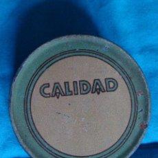 Cajas y cajitas metálicas: CAJITA ANTIGUA LATA EXPORTACIÓN DE PIMENTÓN PURO GARANTIZADO-CALIDAD. Lote 57466994