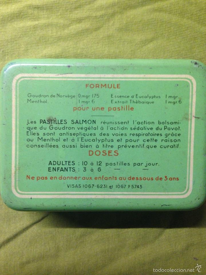 Cajas y cajitas metálicas: Pequeña caja de hojalata litografiada - Foto 2 - 57654064