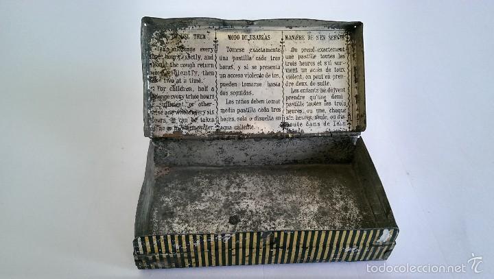 Cajas y cajitas metálicas: CAJITA METÁLICA PASTA PECTORAL DR. ANDREU - Foto 3 - 57742565
