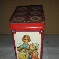 Cajas y cajitas metálicas: CAJA COLA CAO. Lote 57801262
