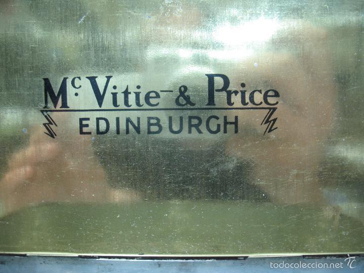 Cajas y cajitas metálicas: M Vitie Price EDINBURGH - Antigua caja metálica con forma de cómoda - Foto 9 - 57849387