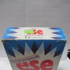 Cajas y cajitas metálicas: ENVASE DETERGENTE ESE,ORIGINAL,AÑOS SETENTA,CAJA EN BUEN ESTADO,ES EL ENVASE DE LAS FOTOS. Lote 58178743
