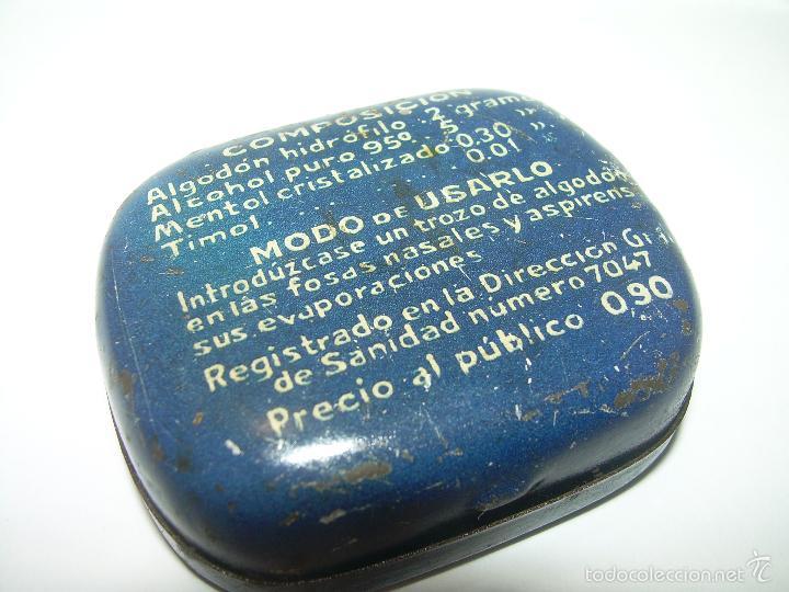 Cajas y cajitas metálicas: ANTIGUA CAJITA DE HOJALATA LITOGRAFIADA....ALGODON HORLAND...SANTANDER. - Foto 4 - 58398688