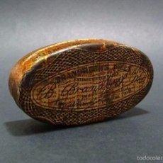 Cajas y cajitas metálicas: ANTIGUA CAJITA METAL LITOGRAFIADO BRANDRETHS PILLS. Lote 58401632