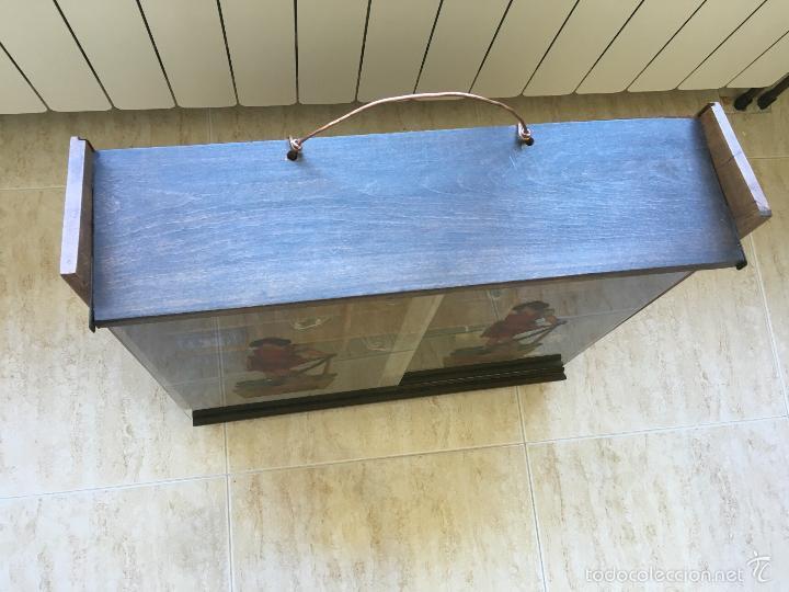Cajas y cajitas metálicas: ANTIGUO MUEBLE EXPOSITOR DE TINTES IBERIA - Foto 4 - 58438361