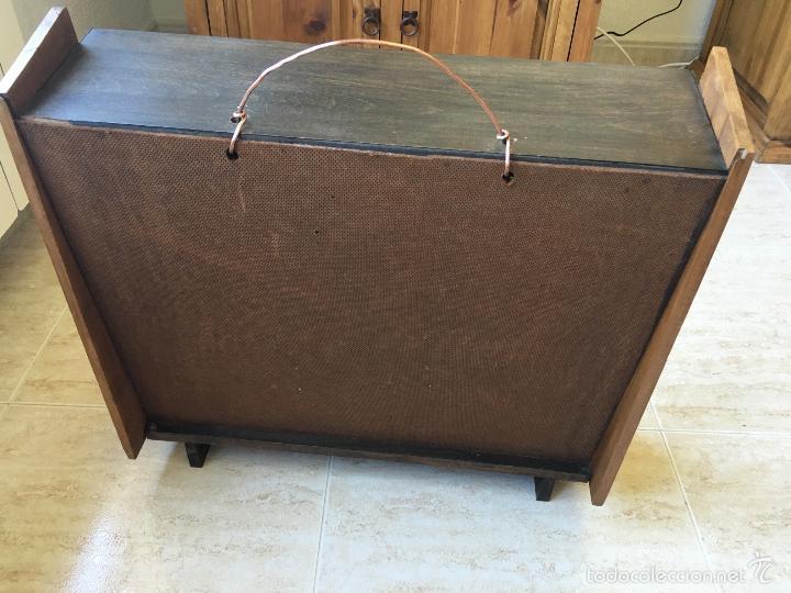 Cajas y cajitas metálicas: ANTIGUO MUEBLE EXPOSITOR DE TINTES IBERIA - Foto 6 - 58438361