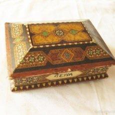 Boîtes et petites boîtes métalliques: CAJA DE CARTON DE PERFUME GRANADA TENA. Lote 58566856