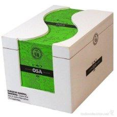 Cajas y cajitas metálicas: CAJA DE PUROS CAO OSA SOL 58 - MADERA - NUEVA. Lote 58581851