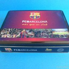 CAJA METÁLICA FC BARCELONA - BARÇA - COOKIES CHOCOLATE - PRODUCTO OFICIAL 856a09a4b44