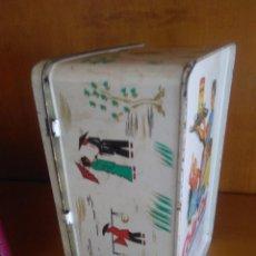 Cajas y cajitas metálicas: ANTIGUA CAJA DE LATA DE COLA CAO,. Lote 59704611