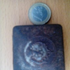 Cajas y cajitas metálicas: CAJITA PASTILLAS PECTORAL. Lote 60272467