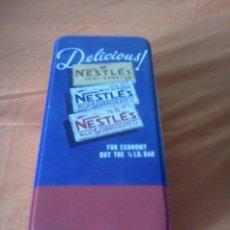 Cajas y cajitas metálicas: CAJA CHOCOLATE NESTLÉ . Lote 61164059