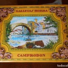 Cajas y cajitas metálicas: CAJA GALLETAS BIRBA -DE CARTÓN-. Lote 61742396
